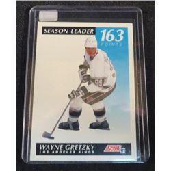 91-92 Score Canadian Bilingual #296 Wayne Gretzky