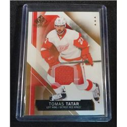 2015-16 SP Game Used Copper Jerseys Tomas Tatar