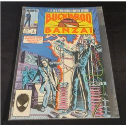 Marvel Buckaroo Banzai #2