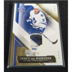15-16 SP Game Used Materials James Van Riemsdyk