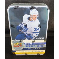 2017-18 UD Series 1 Hockey Tin Sealed