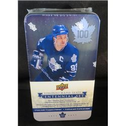 Toronto Maple Leafs Sealed Centennial Tin W/Banner