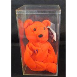 Bamm Beano's Bear Sammy Sosa With Acrylic Case
