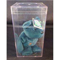 Bamm Beano's Bear Cal Ripken Jr With Acrylic Case