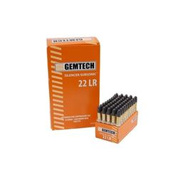 GEMTECH 22 LR AMMUNITION 500 ROUNDS