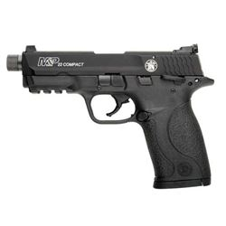 SMITH AND WESSON M& P22 COMPACT SUPPRESSOR READY 22 LR