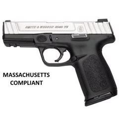 SMITH AND WESSON SD40VE 40 S& W MASSACHUSETTS COMPLIANT