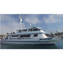 8-Day Sportfishing for 2 aboard the EXCEL Long-Range Sportfishing vessel