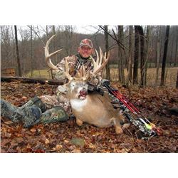 3-Day/4-Night Ohio Whitetail Deer hunt for 2 hunters