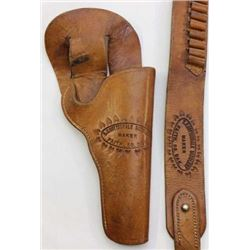 Scarce E.C. Gottschalk Faith, SD stamped holster