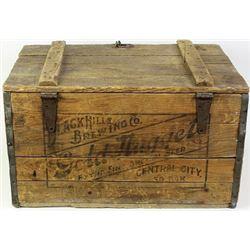 Original Black Hills Brewing Company crate
