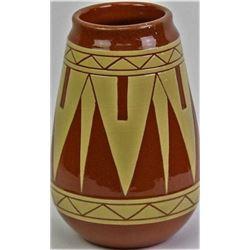 Unusually large Pine Ridge pottery vase
