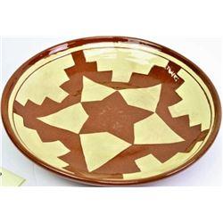 Large Pine Ridge pottery bowl