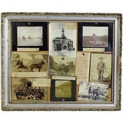 Framed collage of original pictures