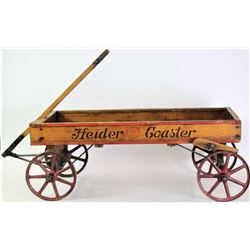 Heider Coaster wood childs wagon