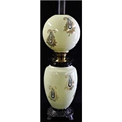 Museum quality Gone with the Wind kerosene lamp
