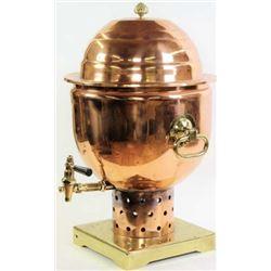 Large and impressive hot beverage urn dispenser