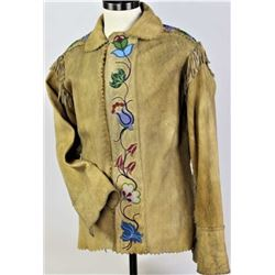 1900's-1920 beaded and fringed Indian jacket