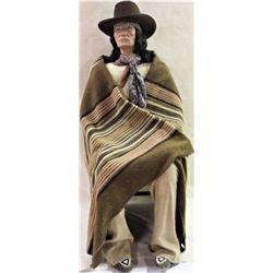 Life size vintage Indian mannequin