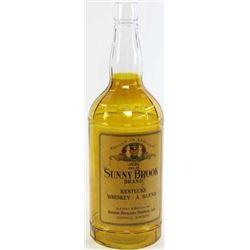 Sunny Brook Whiskey back bar display bottle