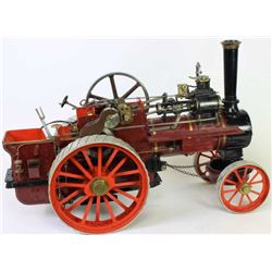 C. 1960s live steam model of an Allchin tractor