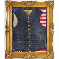 Civil War officers wool vest