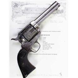 Texas shipped Colt SA.44-40 cal. SN 15XXXX