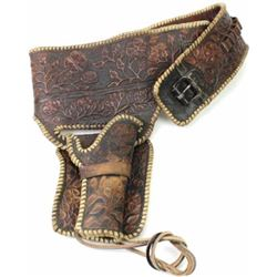 Vintage leather buscadero rig