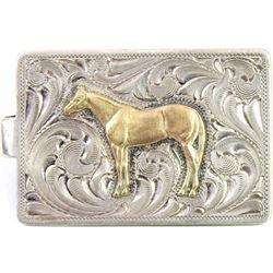 Fine sterling silver money clip