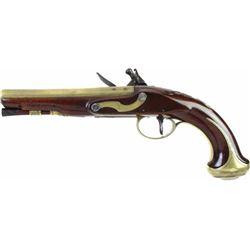 Fine Flintlock pistol by Edward Nicholson