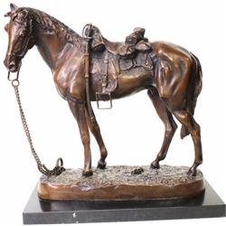 """""""Figure of a Horse"""" after Carl Kauba 1865-1922"""