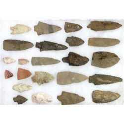 Collection of 23 stone artifacts