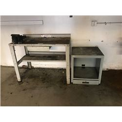 4' SHOP BENCH WITH VISE
