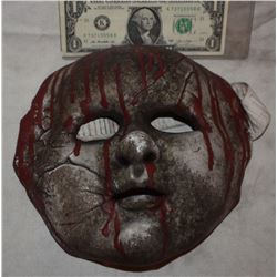 ZZ-CLEARANCE CREEPY BLOODY SILICONE DOLL MASK FROM UNKNOWN PRODUCTION