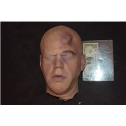 PHILIP SEYMOUR HOFFMAN VERY LAST SILICONE HEAD WITH BRUISES AND HAND PUNCHED HAIRS UNFINISHED