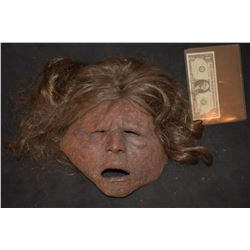 DAWN OF THE DEAD SCREEN USED ROTTEN ZOMBIE MASK 01
