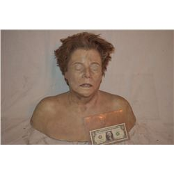 SIX FEET UNDER BRAINS BLOWN OUT DEAD AUTOPSY SILICONE BUST