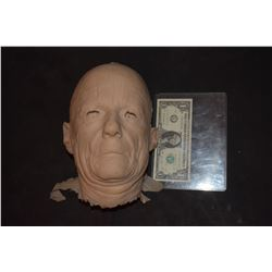 SEVERED SILICONE OLD MAN HEAD RAW CAST