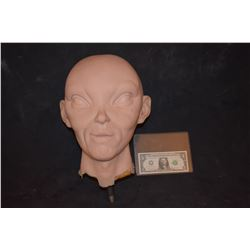 STAR TREK ALIEN FULL HEAD MASK SILICONE ON FOAM MASTER