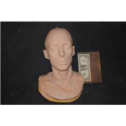STAR TREK AMANDA GRAYSON WYNONA RIDER SILICONE ON FOAM LIFE CAST