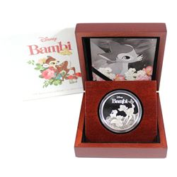 New Zealand Mint Issue: 2017 Niue $2 75th Anniversary of Bambi 1oz. .999 Silver Proof Coin (no Tax)
