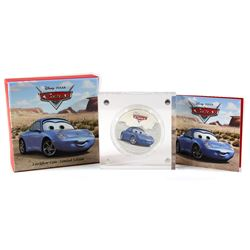 New Zealand Mint Issue: 2017 Niue $2 Disney Pixar Cars - Sally Silver Proof Coin (TAX Exempt)