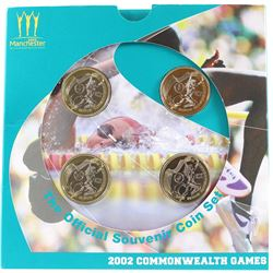 Royal Mint Issue: 2002 United Kingdom RARE Official Souvenir Set of the Manchester Commonwealth Game
