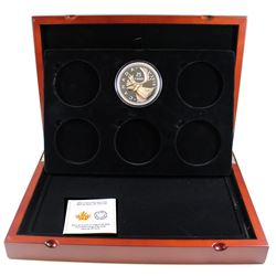 RCM Issue: 2016 Canada 25-cent 5oz Big Coin Series Fine Silver Coin in Deluxe Display Case with COA