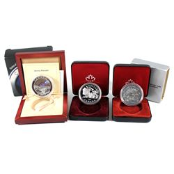 RCM Issue: Estate Lot of RCM Coins. You will receive a 1980 Specimen Silver Dollar, 1981 Proof Silve
