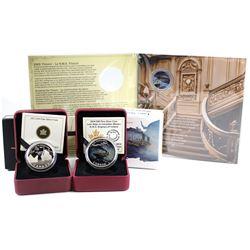 RCM Issue: 2012 Canada $10 R.M.S. Titanic Fine Silver Coin, 2012 R.M.S. Titanic 25-cent Coloured Coi