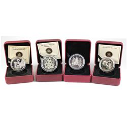 RCM Issue: 4x 2008-2011 Canada Holiday Themed Fine Silver Coins. This lot includes the 2008 $20 Holi