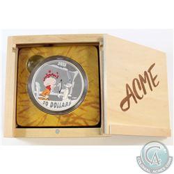 RCM Issue: 2015 Canada $30 Rabbit of Seville 2oz Fine Silver Coin Encapsulated in original Wooden Di