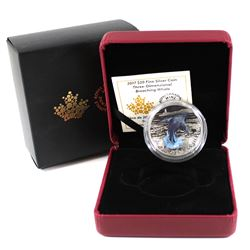 RCM Issue: 2017 Canada $20 Breaching Whale Three-Dimensional Fine Silver Coin (TAX Exempt)