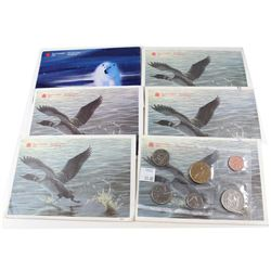RCM Issue: 1992-1999 Canada Proof Like Sets. You will receive the following dates: 1992, 1993, 1994,